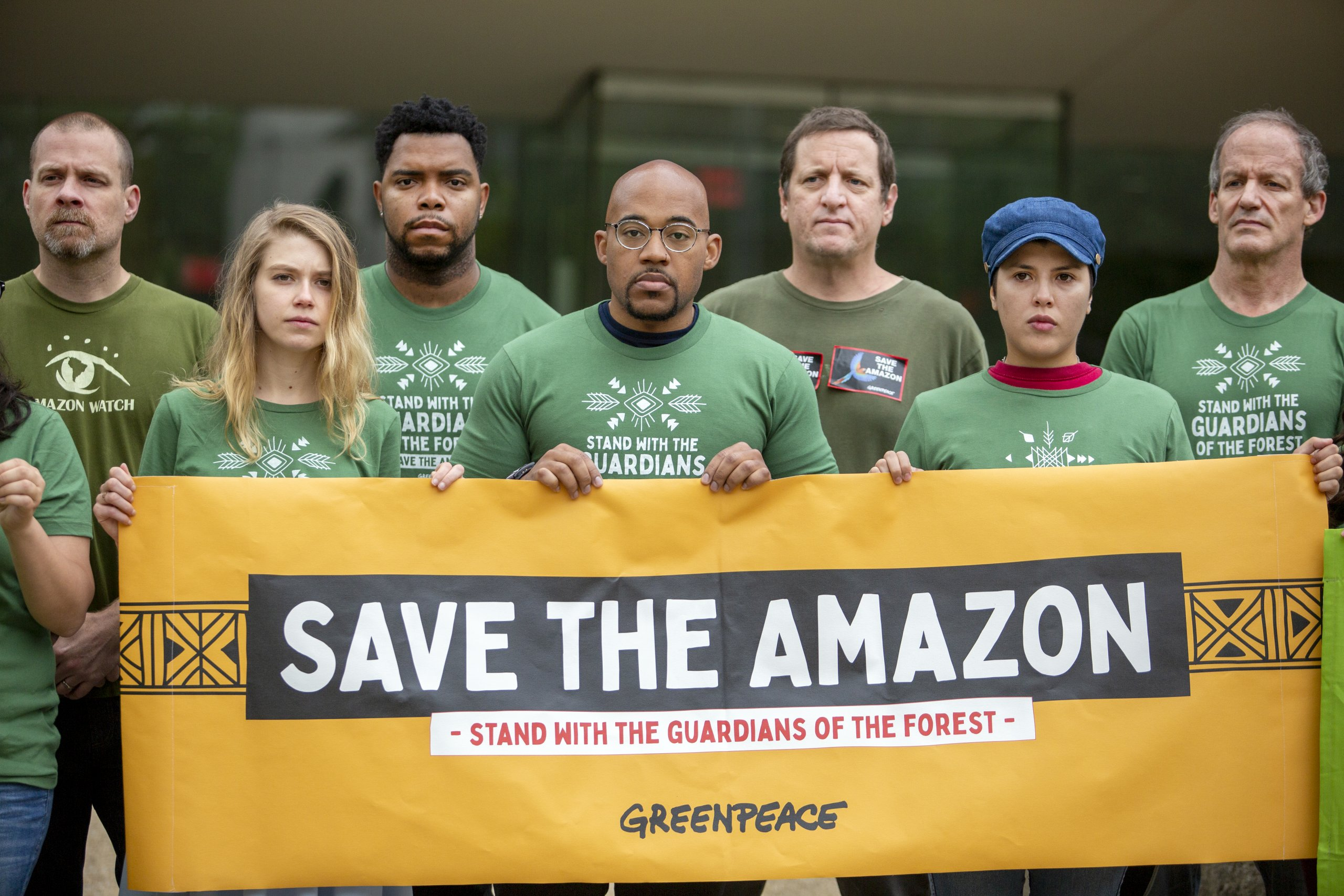 All Eyes on the Amazon – Solidarity Protest in Washington D.C.