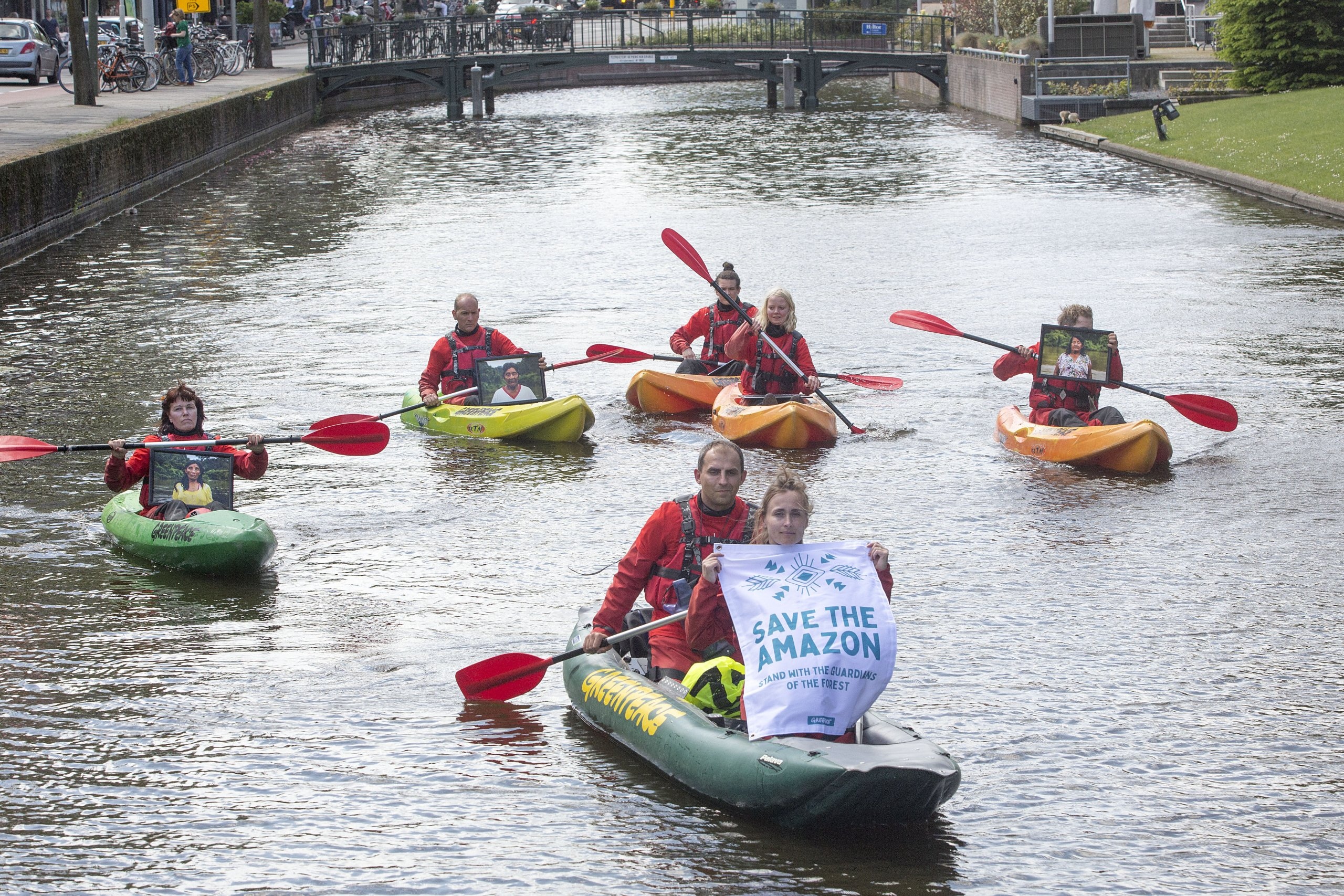 All Eyes on the Amazon – Solidarity Protest in The Hague