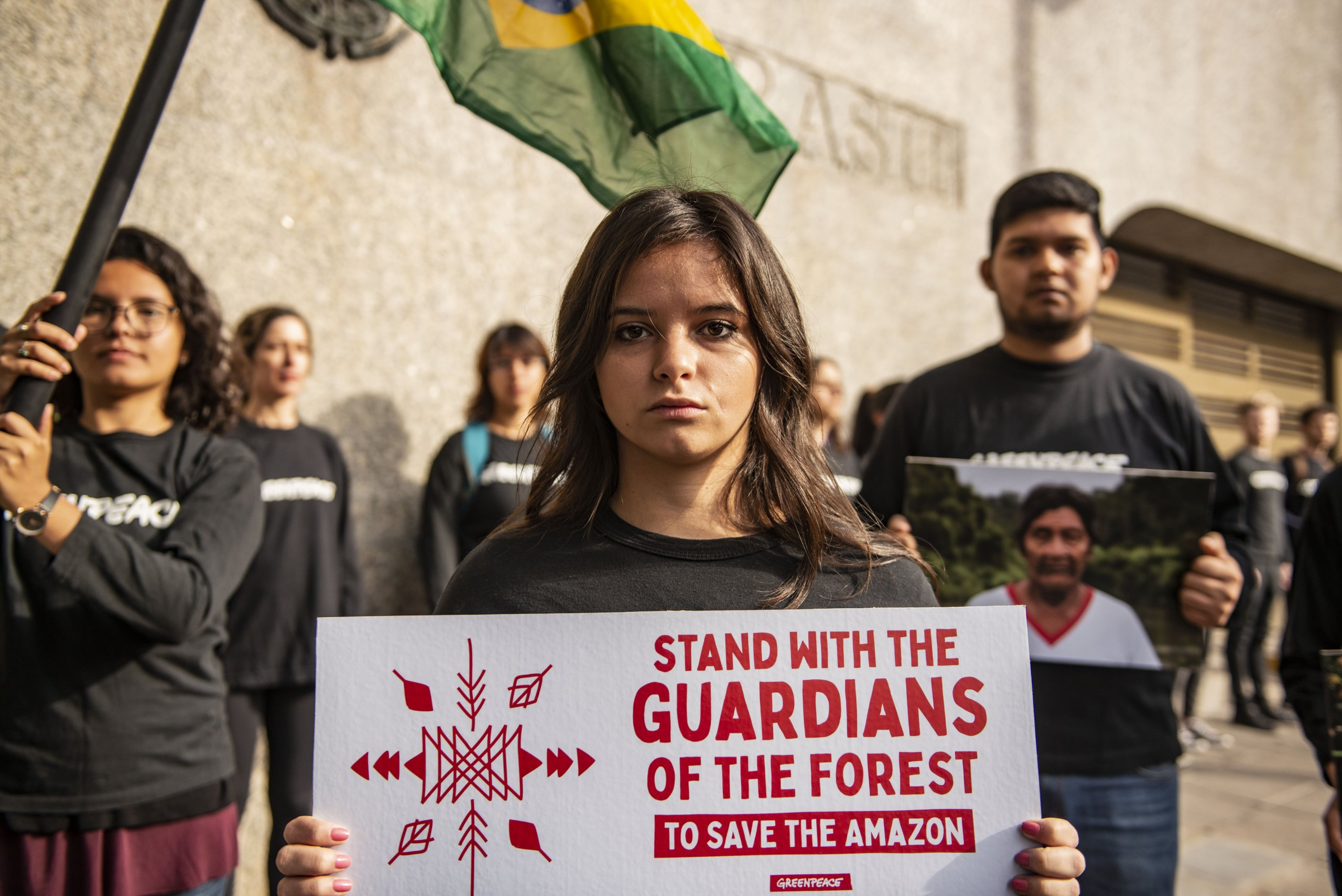 All Eyes on the Amazon – Solidarity Protest in Buenos Aires