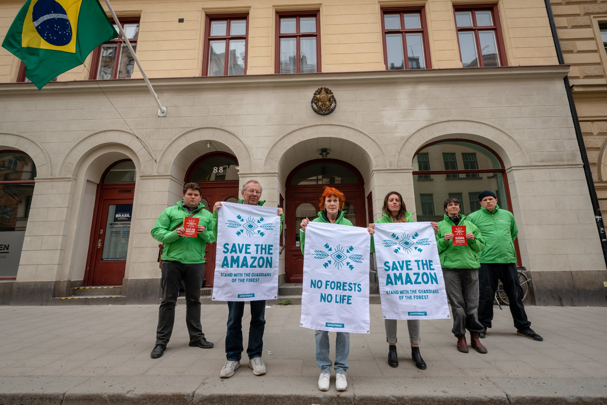 All Eyes on the Amazon – Solidarity Protest in Stockholm